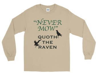 Never Mow Spartees Long Sleeve T-Shirt