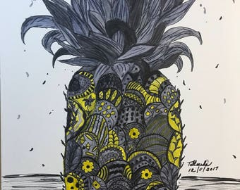 Art Deco Pineapple