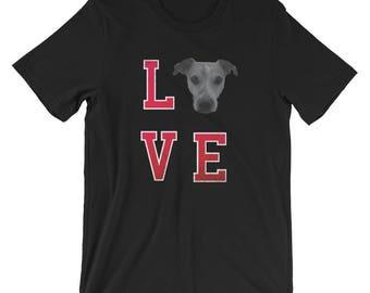 Jack Russell Terrier UNISEX T-Shirt I love Jack Russell Shirt