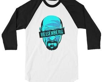 Breaking Bad Heisenberg 3/4 sleeve shirt, Breaking Bad t-shirt, Heisenberg shirt, Walter White shirt