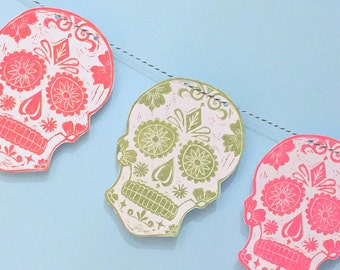 Day of the Dead Halloween Bunting