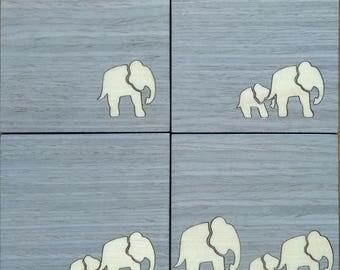 Coasters Coasters elephants
