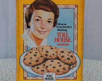 1960's Limited Edition Nestle Toll House Cookie Tin