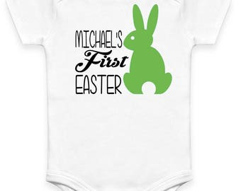 My First Easter Bodysuit/ My First Easter Bunny Shirt (Easter Onesie)