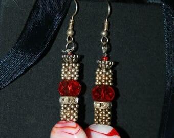 """OOAK  handmade """"Dangling earrings"""""""