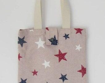 Tote bag stars