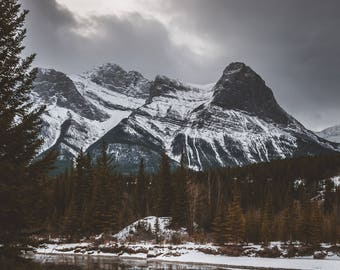 Canmore Mountain Nature View