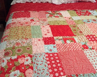 Ruby Red Quilt