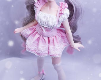 Idol set / BJD dress / BJD clothes / MSD girl / 1/4 girl / MiniFee