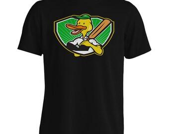 Duck Cricket Player Batsman Men's T-Shirt i318m