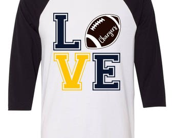 Love the Chargers Tee