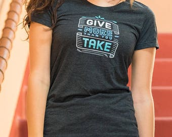 Give & take t-shirt (Women)