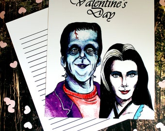 Valentine's card, The Munster