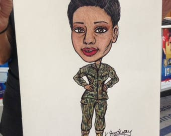 Single Caricatures