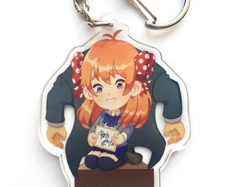 Gekkan Shoujo Nozaki-kun Acrylic Charm Keychain