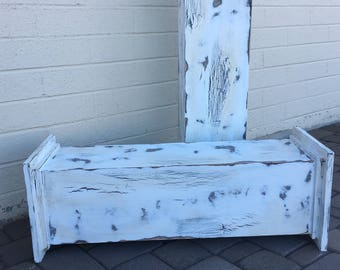 Distressed Plant Stands