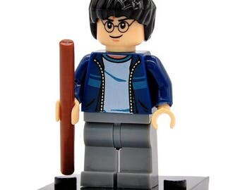 Harry Potter custom Wizard Harry Potter Series Mini figure fits LEGO Casual Clothing