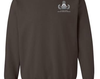 Master Rated Explosive Ordinance Disposal EOD Embroidered Sweatshirt-7731