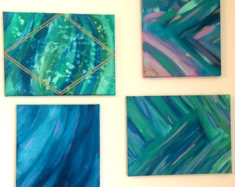 Abstract Canvas Collection