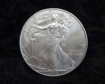 Coated Silver Pocket Coin