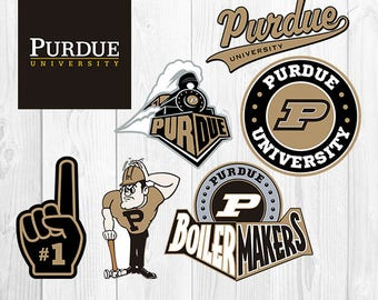Purdue University SVG, Purdue University Files, PU Boiler Makers Logo, Football Printables, Vector Image, Silhouette Cricut, S-051