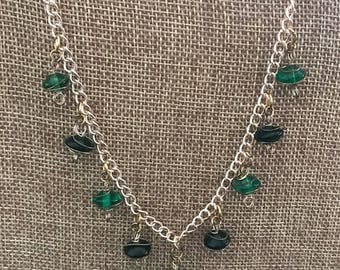 Beaded Wire Necklace - Item #N101