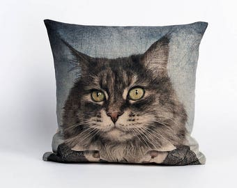Dressed Cat Cushion Covers