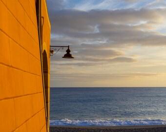 Photo print Varigotti #1 - beach and sea