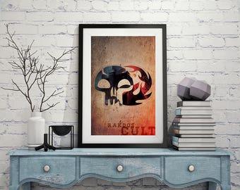 Rakdos Cult – Magic The Gathering Poster 11x17 Lustre Print