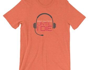 Gamer Shirt Funny Gaming T Shirt For Teens Boys Girls Men Gamer Girl Video Games Gamer Gift Gaming Gifts Short-Sleeve Unisex T-Shirt