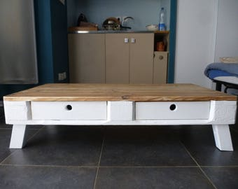 Coffee table with drawer - Palette