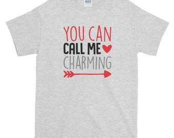 You Can Call Me Charming KIDS VALENTINES SHIRTS/body suit and Toddler