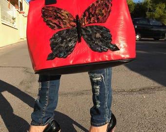 Butterfly handbag Spain