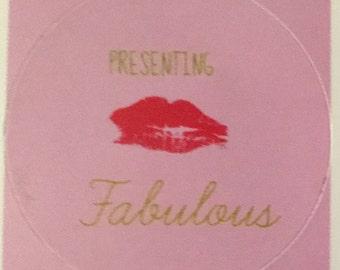 Presenting Fabulous Sticker