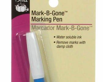 Mark-B-Gone Blue Marking Pen