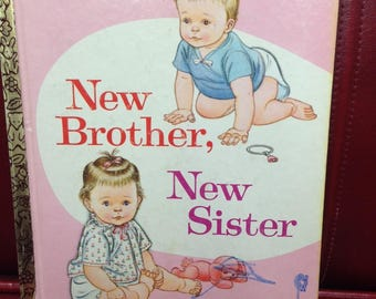 New Brother, New Sister.  A Little Golden Book