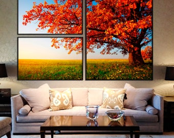 Framed canvas print wall art for home decoration