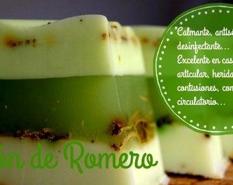 Medicinal soap Rosemary