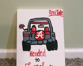 Customized College Canvas