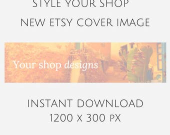 ETHNO ETSY SHOP, Tribal shop cover, etsy shop cover, etsy banner, stock photo, stock image, mock up, graphic design, styled desktop