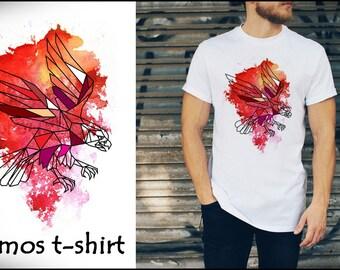 T shirt uomo man- EAGLE - size S M L XL - by cosmostshirt Designer