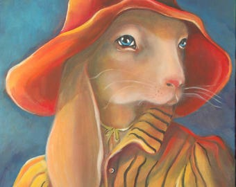 Art Print - Lapin in the South of France