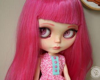 "OOAK Custom Blythe Art Doll ""EMMA"" by Dear Girlface Dolls"