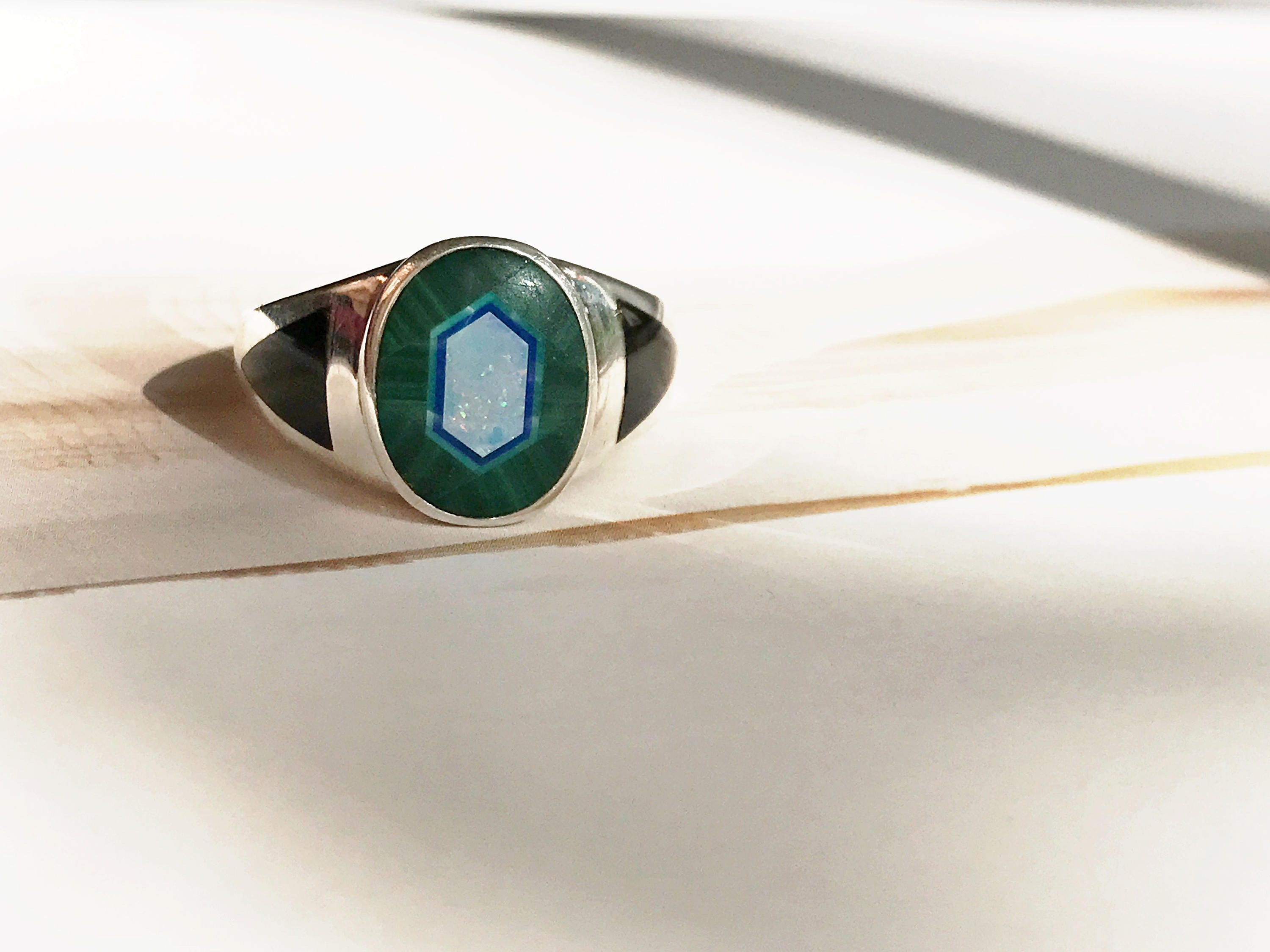 rings and rtco il signet size jewelry american lapis p malachite ring turquoise opal wedding native style southwestern signed onyx lazuli vintage fullxfull