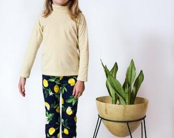 lemon print kids pants Supayana