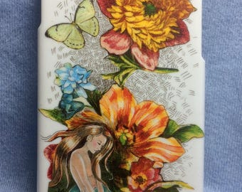 iPhone 6 Cover, One Of a Kind, Mermaid, Created from Original Art by Melody Lea Lamb