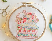 Sweet Dreams - Hand Embroidery PDF Pattern