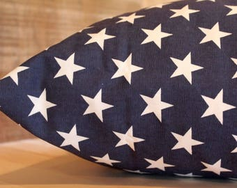 Dog Bed Cover, Americana Stars Blue Cover, Designer Cover, Dog Bed Duvet, Pet Bed Cover, Cat Bed Cover, Small to XL Covers for Dog Beds