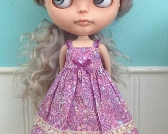 Sun Dress for Blythe - Liberty Tana Lawn Maxidress #3