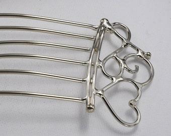 Heart Hair Fork